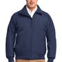 Port Authority Mens Challenger Wind & Water Resistant Full Zip Jacket - True Navy Blue