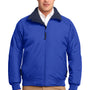 Port Authority Mens Challenger Wind & Water Resistant Full Zip Jacket - True Royal Blue/True Navy Blue