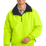 Port Authority Mens Challenger Wind & Water Resistant Full Zip Jacket - Safety Yellow/Black