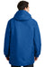 Port Authority J799 Mens Waterproof Full Zip Hooded Jacket Royal Blue Back