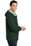 Port Authority JP56 Mens Team Wind & Water Resistant Full Zip Hooded Jacket Hunter Green Side