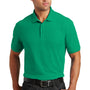 Port Authority Mens Core Classic Short Sleeve Polo Shirt - Bright Kelly Green