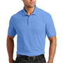 Port Authority Mens Core Classic Short Sleeve Polo Shirt - Carolina Blue