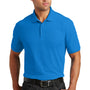 Port Authority Mens Core Classic Short Sleeve Polo Shirt - Coastal Blue