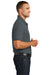 Port Authority K100 Mens Core Classic Short Sleeve Polo Shirt Graphite Grey Side