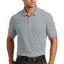 Port Authority Mens Core Classic Short Sleeve Polo Shirt - Gusty Grey