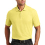 Port Authority Mens Core Classic Short Sleeve Polo Shirt - Lemon Drop Yellow