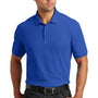 Port Authority Mens Core Classic Short Sleeve Polo Shirt - True Royal Blue