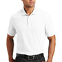 Port Authority Mens Core Classic Short Sleeve Polo Shirt - White