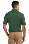 Sport-Tek K469 Mens Dri-Mesh Moisture Wicking Short Sleeve Polo Shirt Forest Green Back