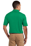 Sport-Tek K469 Mens Dri-Mesh Moisture Wicking Short Sleeve Polo Shirt Kelly Green Back