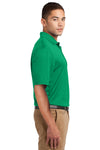 Sport-Tek K469 Mens Dri-Mesh Moisture Wicking Short Sleeve Polo Shirt Kelly Green Side