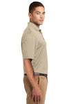 Sport-Tek K469 Mens Dri-Mesh Moisture Wicking Short Sleeve Polo Shirt Sandstone Brown Side