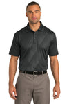 Port Authority K548 Mens Tech Moisture Wicking Short Sleeve Polo Shirt Graphite Grey Front