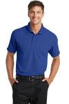 Port Authority K572 Mens Dry Zone Moisture Wicking Short Sleeve Polo Shirt Royal Blue Front