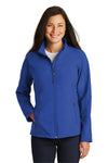 Port Authority L317 Womens Core Wind & Water Resistant Full Zip Jacket Royal Blue Front