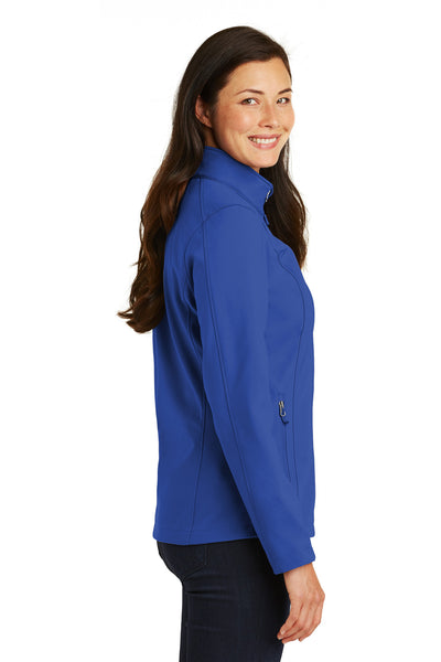 Port Authority L317 Womens Core Wind & Water Resistant Full Zip Jacket Royal Blue Side