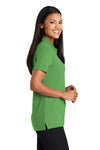 Port Authority L510 Womens Moisture Wicking Short Sleeve Polo Shirt Vine Green Side