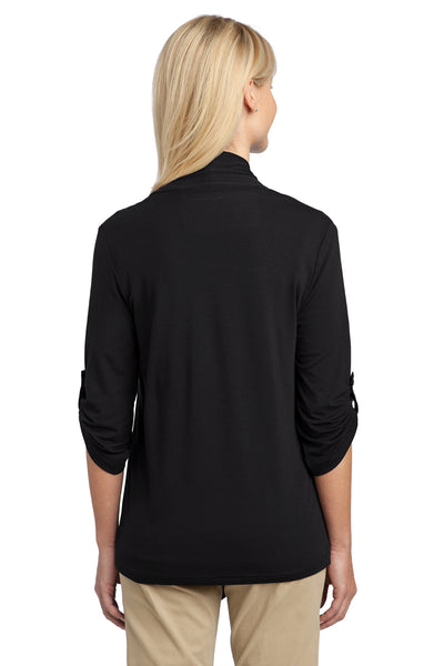 Port Authority L543 Womens Concept Shrug Black Back