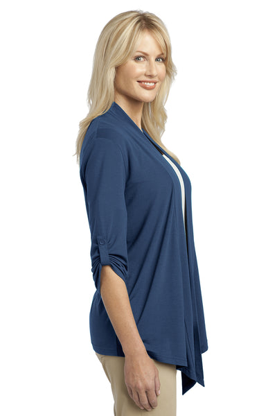 Port Authority L543 Womens Concept Shrug Moonlight Blue Side
