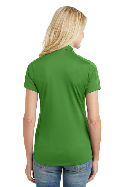 Port Authority L569 Womens Moisture Wicking Short Sleeve Polo Shirt Vine Green Back