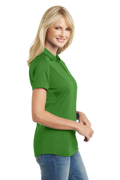 Port Authority L569 Womens Moisture Wicking Short Sleeve Polo Shirt Vine Green Side