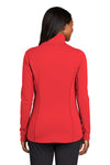 Port Authority L904 Womens Collective Full Zip Smooth Fleece Jacket Pepper Red Back