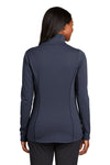 Port Authority L904 Womens Collective Full Zip Smooth Fleece Jacket River Blue Back