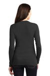 Port Authority LM1008 Womens Concept Long Sleeve Cardigan Sweater Black Back