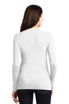 Port Authority LM1008 Womens Concept Long Sleeve Cardigan Sweater White Back