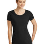 New Era Womens Performance Moisture Wicking Short Sleeve Crewneck T-Shirt - Black
