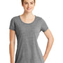New Era Womens Performance Moisture Wicking Short Sleeve Crewneck T-Shirt - Shadow Grey