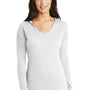 New Era Womens Performance Moisture Wicking Short Sleeve Crewneck T-Shirt - White