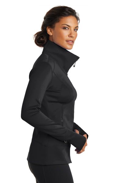 Ogio LOE700 Womens Endurance Fulcrum Full Zip Jacket Black Side