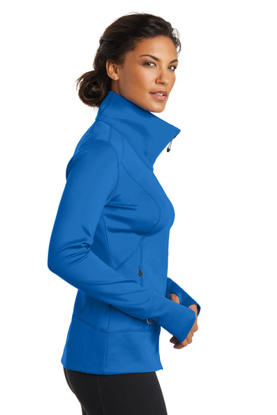 Ogio LOE700 Womens Endurance Fulcrum Full Zip Jacket Electric Blue Side