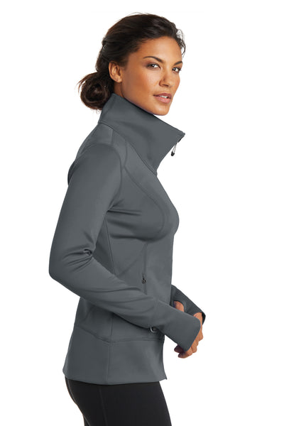 Ogio LOE700 Womens Endurance Fulcrum Full Zip Jacket Gear Grey Side