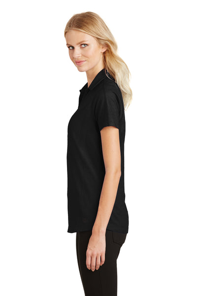 Ogio LOG126 Womens Onyx Moisture Wicking Short Sleeve Polo Shirt Black Side
