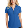 Ogio Womens Onyx Moisture Wicking Short Sleeve Polo Shirt - Electric Blue