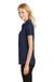 Ogio LOG126 Womens Onyx Moisture Wicking Short Sleeve Polo Shirt Navy Blue Side