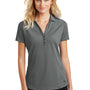 Ogio Womens Onyx Moisture Wicking Short Sleeve Polo Shirt - Petrol Grey
