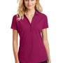 Ogio Womens Onyx Moisture Wicking Short Sleeve Polo Shirt - Radiant Pink - Closeout