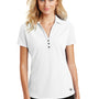 Ogio Womens Onyx Moisture Wicking Short Sleeve Polo Shirt - White