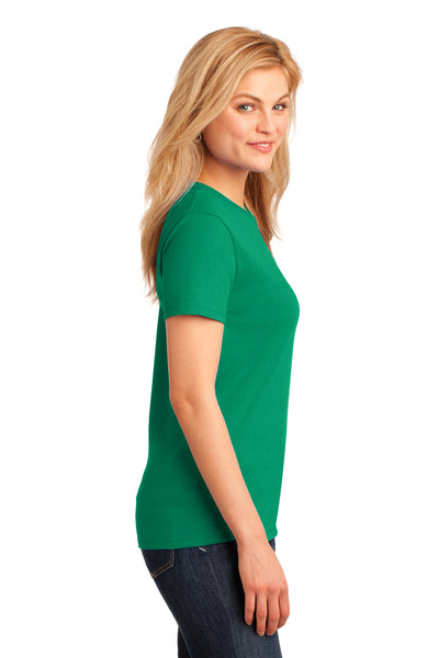 Port & Company LPC54 Womens Core Short Sleeve Crewneck T-Shirt Kelly Green Side