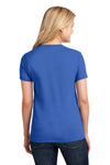 Port & Company LPC54 Womens Core Short Sleeve Crewneck T-Shirt Royal Blue Back