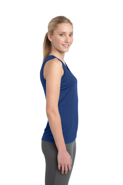 Sport-Tek LST352 Womens Competitor Moisture Wicking Tank Top Royal Blue Side