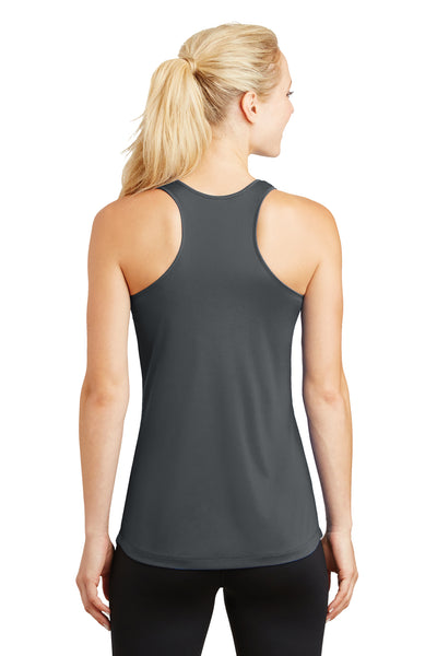 Sport-Tek LST356 Womens Competitor Moisture Wicking Tank Top Iron Grey Back