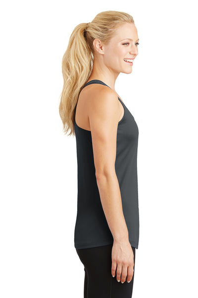 Sport-Tek LST356 Womens Competitor Moisture Wicking Tank Top Iron Grey Side