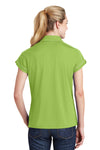 Sport-Tek LST659 Womens Sport-Wick Moisture Wicking Short Sleeve Polo Shirt Green Oasis Back