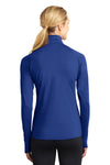 Sport-Tek LST850 Womens Sport-Wick Moisture Wicking 1/4 Zip Sweatshirt Royal Blue Back