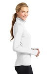 Sport-Tek LST850 Womens Sport-Wick Moisture Wicking 1/4 Zip Sweatshirt White Side